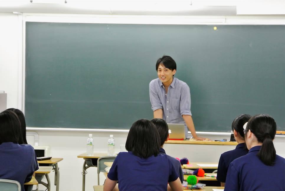 品川女子学院での授業風景