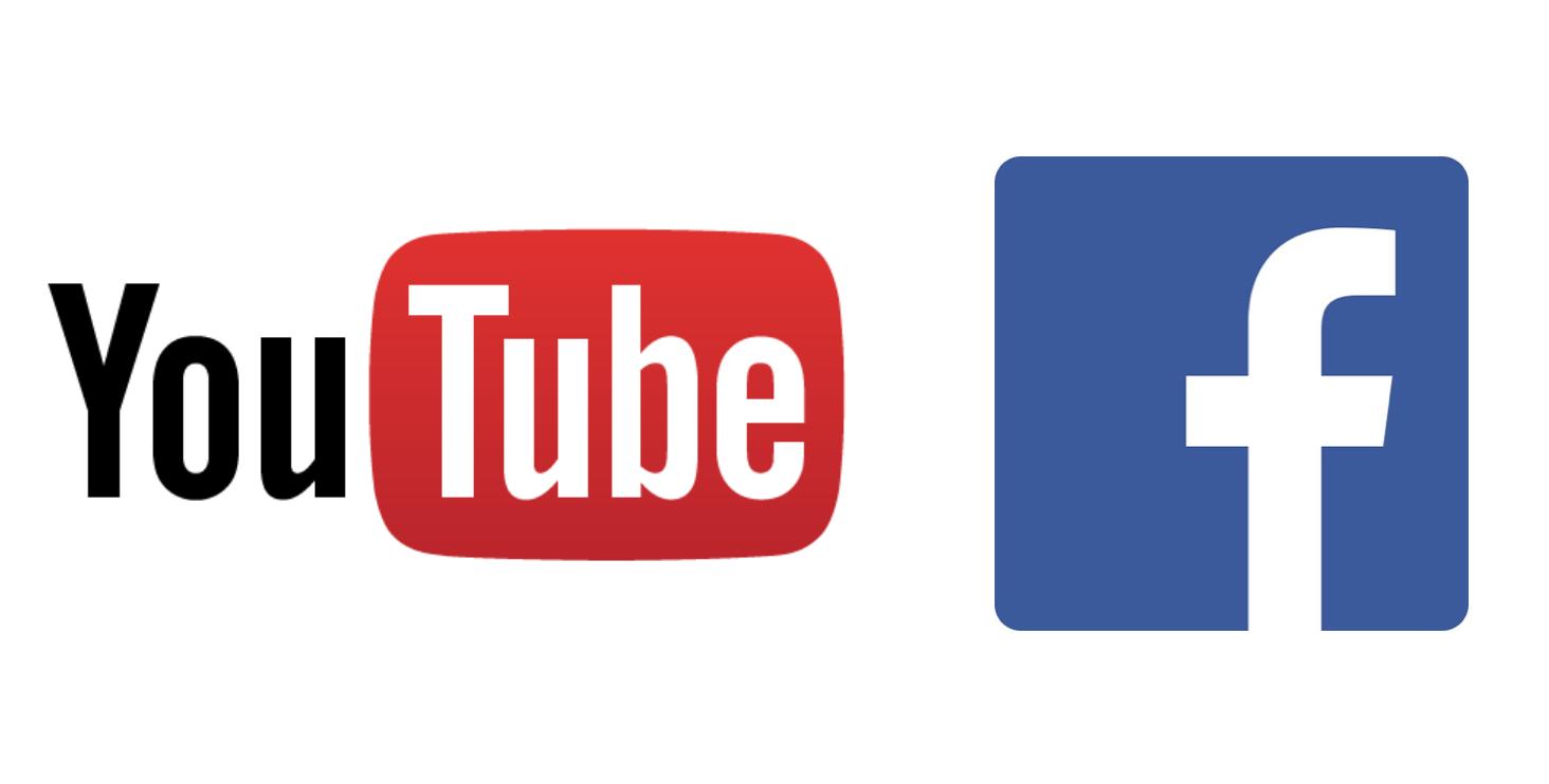 youtube&facebook