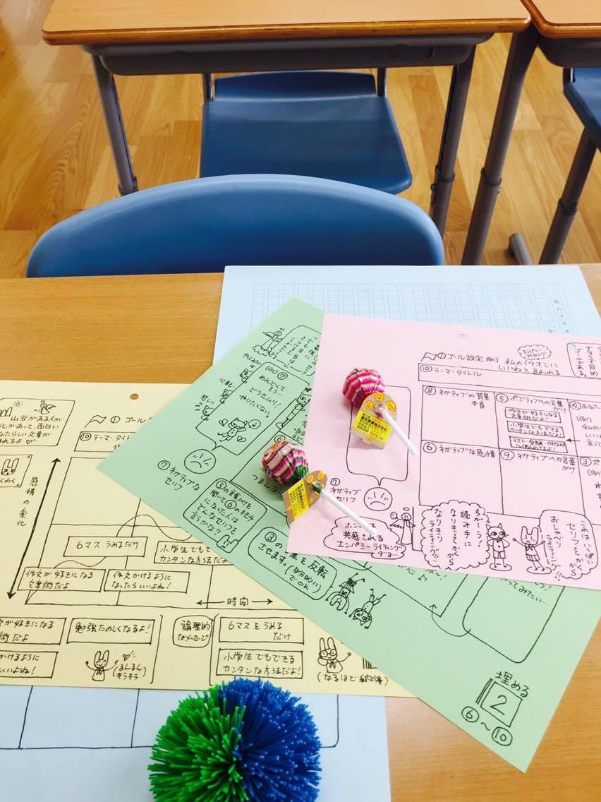 青森の東北中学校でエンパシーライティング特別授業01